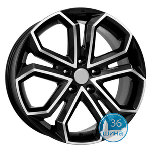 Диски 6.0J15 ET50 D60.1 NZ Wheels F-15 (4x100) BKF Китай