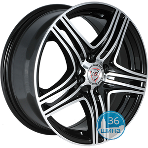 Диски 6.5J15 ET35 D58.6 NZ Wheels F-6 (4x98) BKF Россия