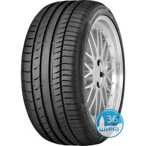 Шины 225/50 R17 Б/К Continental Sport Contact 5 (*) FR SSR 94W Run Flat Германия, 2018