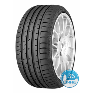 Шины 235/45 R17 Б/К Continental Sport Contact 3 XL SSR 97W Run Flat Германия, 2014, (М)